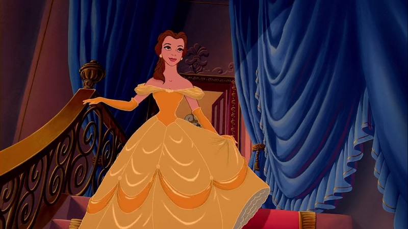 Belle: the reader who stands up for herself